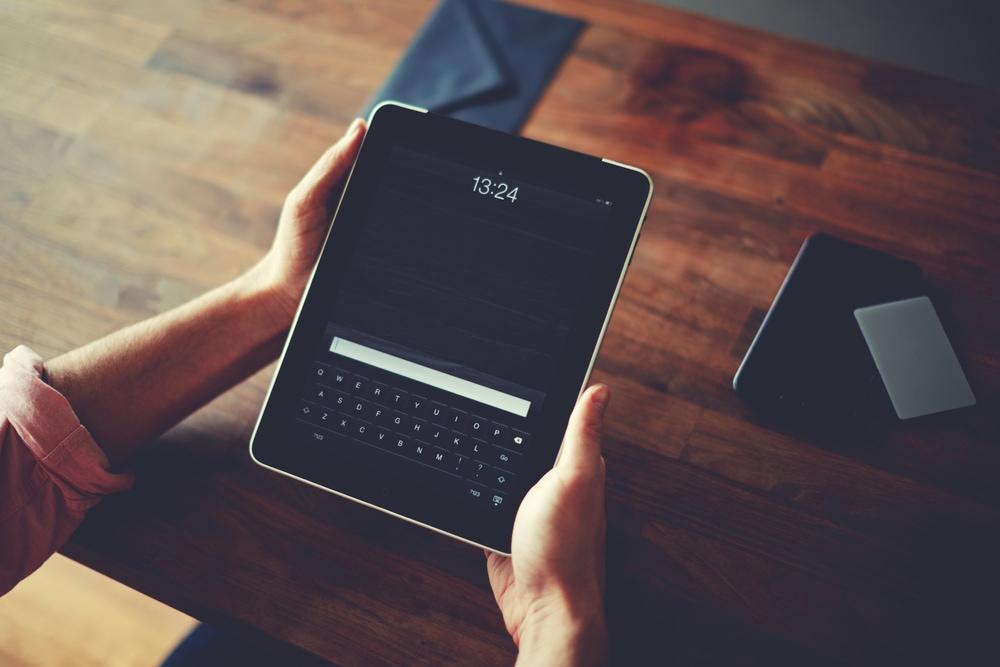 Envoi d'un ipad en objet de valeur