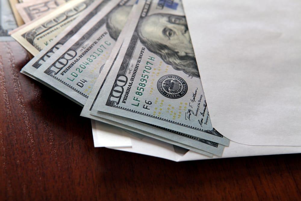 Renvoyer de l'argent liquide